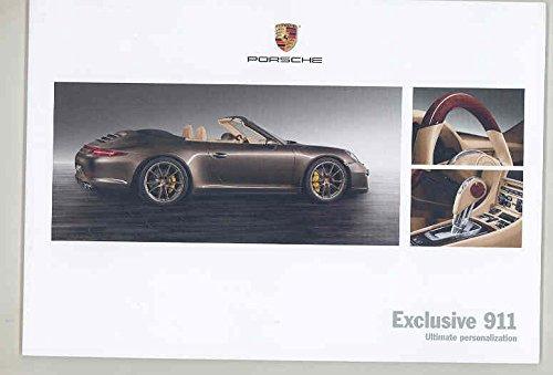 Amazon com: 2012 2013 Porsche 911 991 Accessories Brochure