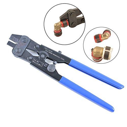 IWISS PEX-1210C PEX Crimp Ring Removal Tool For 1/2-Inch,3/4-Inch,1-Inch F1807 Copper Crimp Rings ()