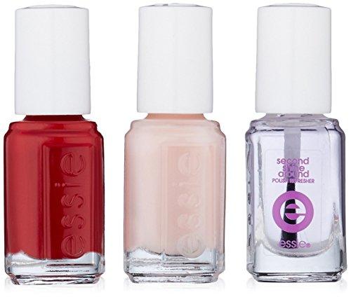 essie Trend Collection Nail Polish Kit, Mini Trio Pink Kit, Forever Yummy/Mademoiselle/Second Shine Around ()