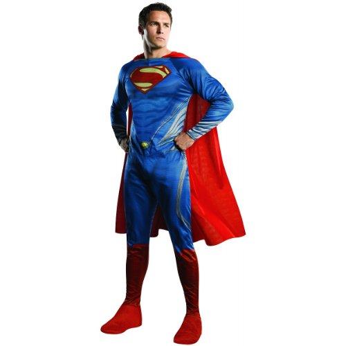 Rubie's Costume Man Of Steel Adult Complete Superman, Blue/Red, Large (Superman: Man Of Steel Cape)