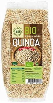 SOLNATURAL Quinoa Formato Grande Bio 1 Kg, Estándar, Único ...
