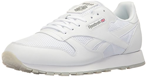 Reebok Men's Classic Leather NM Fashion Sneaker - White/S...