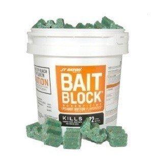 (JT Eaton 719-PN Bait Block Peanut Butter Flavor Rodenticide (Pack of 144))