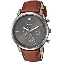 Fossil FS5582 Neutra Men's Chronograph Quartz Watch (Brown)