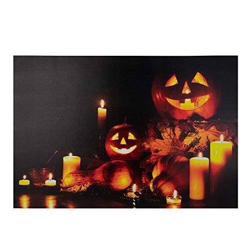 Led Canvas Wall Art Halloween (Northlight 23.5