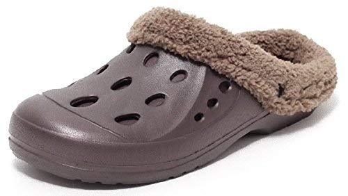 brun de Dynamic24 45 chaude obstrue pantoufles bordées chaussures jardin doublure zq5vH6q