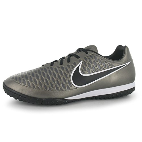 NIKE Magista Onda Astro Turf Football Baskets Homme en étain/Noir Chaussures de Football