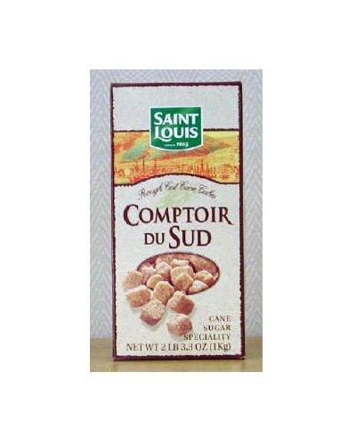 St Louis Brown Sugar Cubes, 2 lb. 3.3 ounce Units (Pack of 2) by St Louis