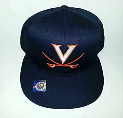 University of Virginia Cavaliers Adjustable Snapback Hat 3D Embroidered Flatbill Cap from Collegiate Headwear