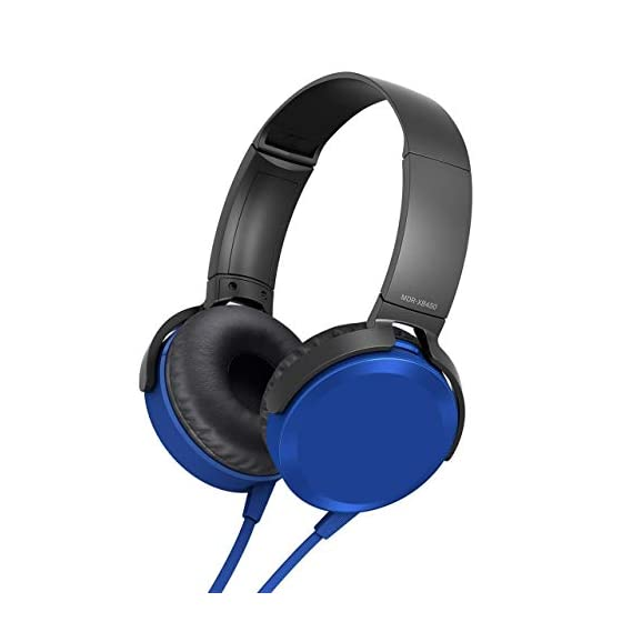 MAGBOT Extra Bass 2.0 On-Ear Headphones with Tangle Free Cable, 3.5mm Jack, Headset with Mic for Phone Calls