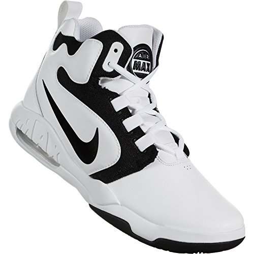 Nike Mens Air Omzetting Basketbalschoen Witte