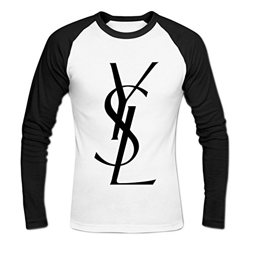 Men's yves saint laurent Long Sleeve Baseball Shirt M - Mens Yves Laurent Clothing Saint