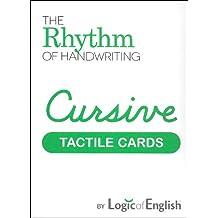 The Logic of English Rhythm of Handwriting Cursive Tactile Cards