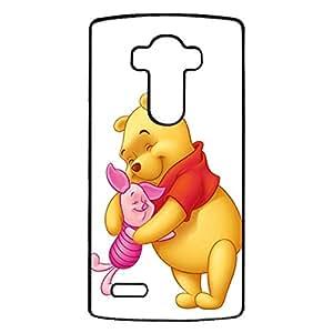 LG G4 Premium Cover Case with Creative Pooh Bear Cartoon Style,Anime Design Pooh Bear Logo Phone Accessory