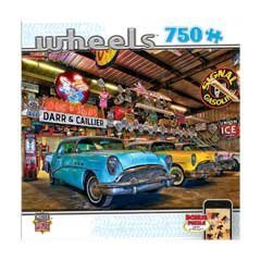 Masterpieces Custom Classics Wheels Jigsaw Puzzle (750-Piece) by MasterPieces