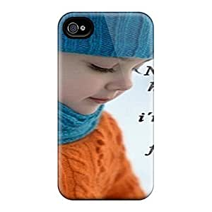 4/4s Scratch-proof Protection Case Cover For Iphone/ Hot No Matter Phone Case