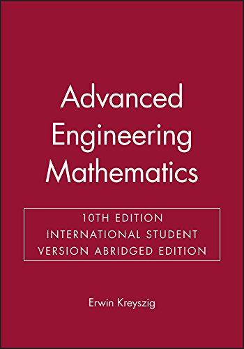 Advanced Engineering Mathematics, 10/e (Abridged  Edition)-cover