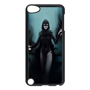Raven Teen Titans Comic iPod TouchCase Black yyfabc-626518