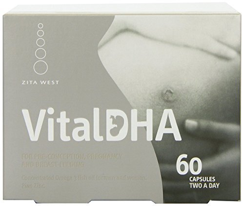 Vital DHA (Blister Pack) (60 capsule) - x 2 *Twin DEAL Pack* by Zita West