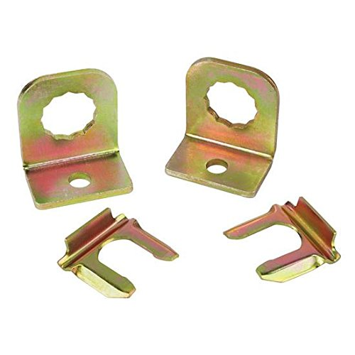 Brake Line Bracket - Removable Brake Line Retaining Tab for Rubber Hose