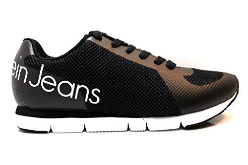 Jack da Corsa Jeans Nero Scarpe Calvin Klein Uomo w1qE76