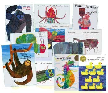 Eric Carle Bookコレクションfor Kids   B004ITQQCK