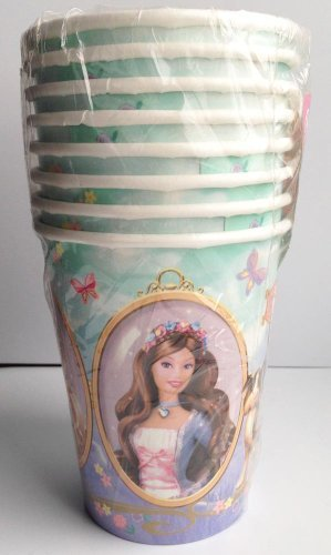 Barbie Princess & the Pauper Cups (8ct)