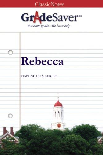rebecca study guide gradesaver rh gradesaver com rebecca study guide answers Fahrenheit 451 Study Guide Answers