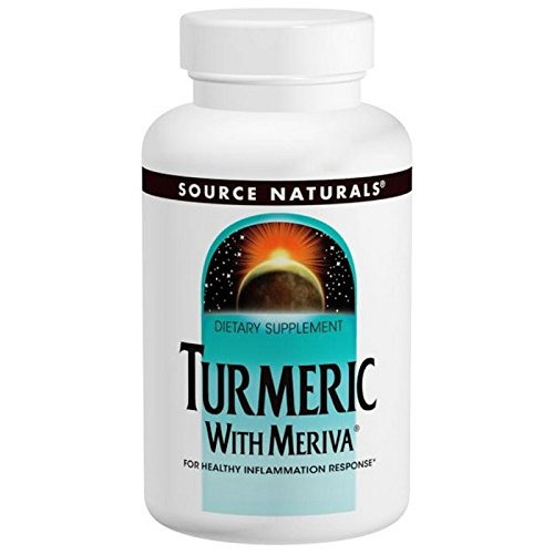 41A DPXOe4L - Source Naturals Turmeric With Meriva, Inflammation Reponse & Liver Support, 500mg - 120 Capsules