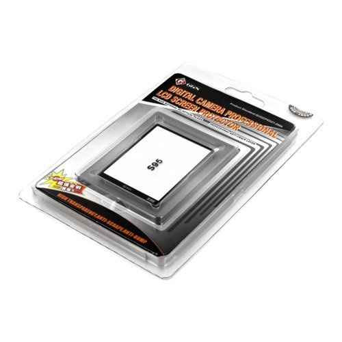 Neewer Optical Glass DSLR LCD Screen Protector for Canon Pow