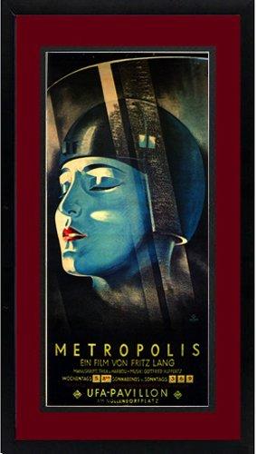 Metropolis Fritz Lang en Set de 2 de con marco: Amazon.es: Hogar