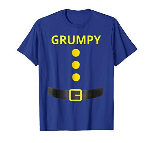 Grumpy Dwarf Costume Shirt Funny Halloween Gifts