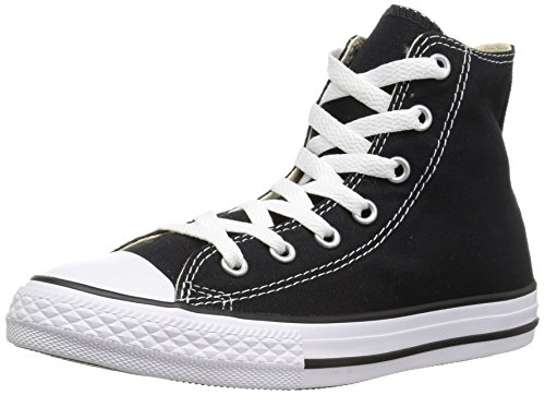 White Converse Chuck Top Taylor per High bambini All Star Scarpe Toddler Black Black 77grqwpYH
