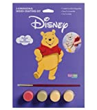: Disney Wood Crafting 3-D Paint Kits-Pooh