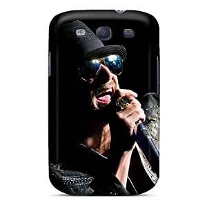 AlainTanielian Samsung Galaxy S3 Protector Hard Phone Covers Support Personal Customs Vivid Kid Rock Band Pictures [mwW12943sfKs]