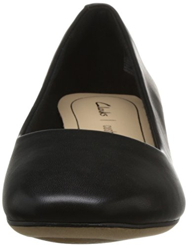 Clarks Nero Orabella con Black Donna Tacco Scarpe Leather Alice 7H7Yqdwr