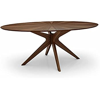 Amazon Com Starburst Oval Dining Table Tables