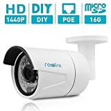 Reolink Home Security Outdoor/Indoor IP Surveillance Camera (Bullet Cam w/SD Card)