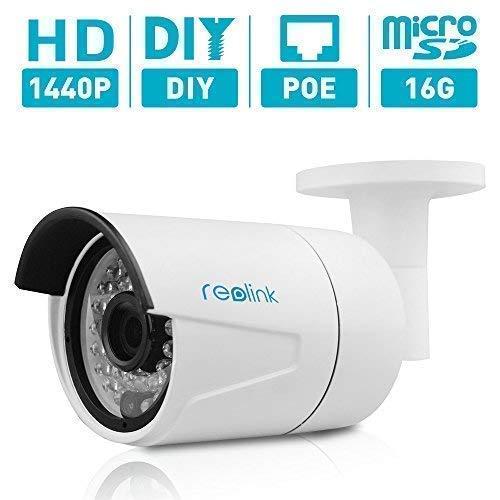 Reolink 4MP  Super HD PoE Camera w/SD Card Outdoor/Indoor Vi