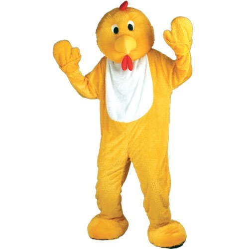 Deluxe Mascot Chicken Adult Costumes (Giant Chicken Mascot (Deluxe) - Adult Costume Adult - One Size by Wicked Wicked)