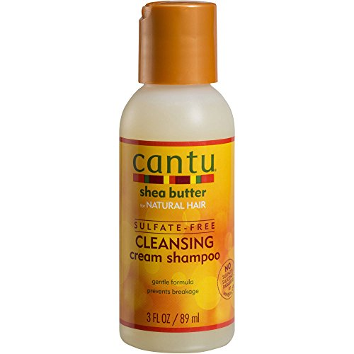 Cantu Shea Butter Sulfate-free Cleansing Cream Shampoo, 3 Fluid Ounce