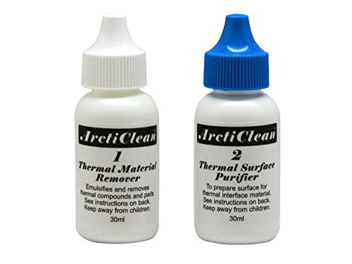 Arctic Silver Arcticlean Thermal Cooling Material Remover and Surface Purifier (ACN-60ML) (Arcticlean Thermal Material)
