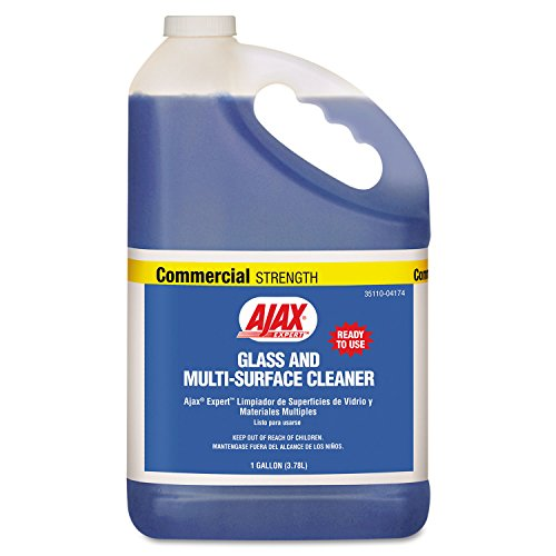 Mirror Glass Ajax - Ajax Expert Glass and Multi-Surface Cleaner, 1gal Bottle, 4/Carton