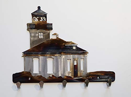 Lighthouse Metal Key Chain -