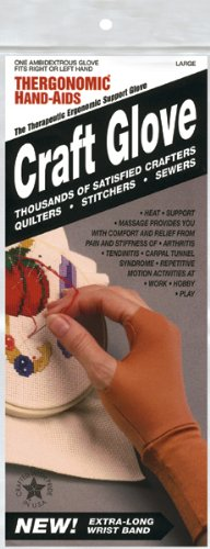 Edmunds Craft Artist Glove, Large (Therapeutic Craft Glove)