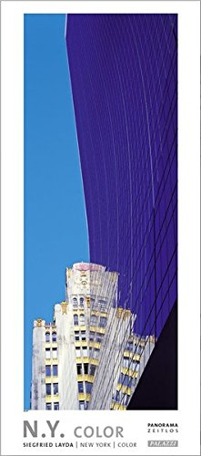 N. Y. New York: Color by Siegfried Layda - Panorama Zeitlos Kalender - Manhattan - Freiheitsstatue - Empire State Building - Format 44 x 100 cm