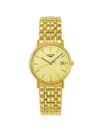 LONGINES WOMEN'S 23MM GOLD-TONE STEEL BRACELET & CASE QUARTZ WATCH L42202328