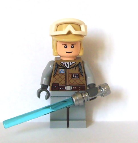 Hoth Luke Skywalker - Lego Star Wars Mini Figure - Luke Skywalker Hoth with Lightsaber (Approximate