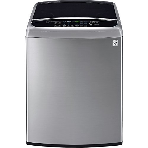 LG WT1701CV 5.0 Cu. Ft. Graphite Steel Top Load Washer - Energy Star