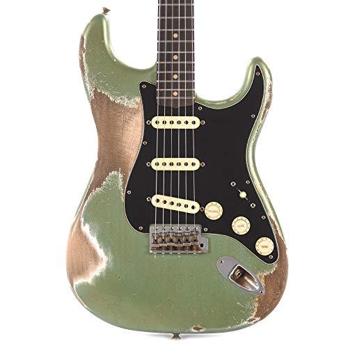 (Fender Custom Shop 60s Stratocaster Heavy Relic Sage Green Metallic Masterbuilt By Kyle McMillin)